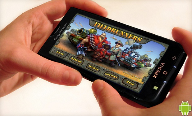 Fieldrunners HD' para Android
