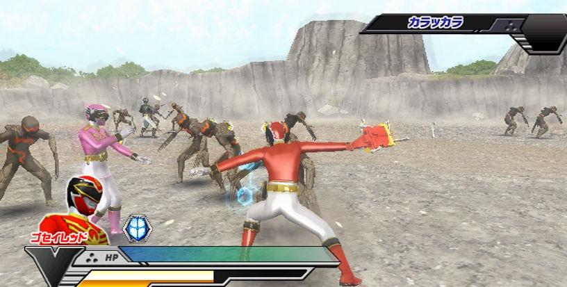 pm · David Martínez · Wii · Namco Bandai · Power Rangers Samurai