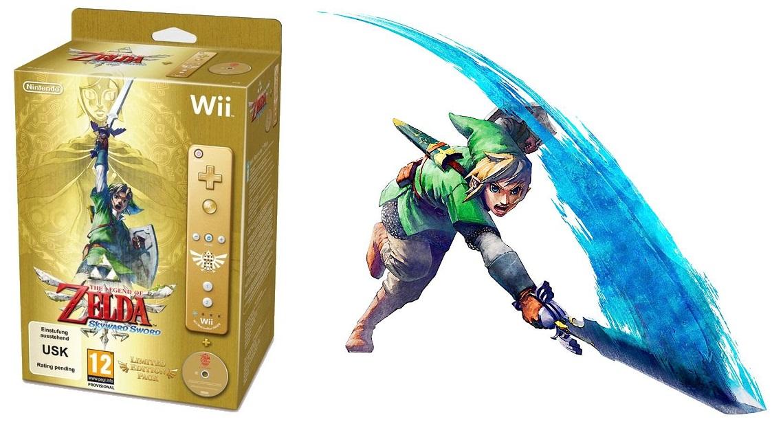The Legend Of Zelda Skyward Para Wii