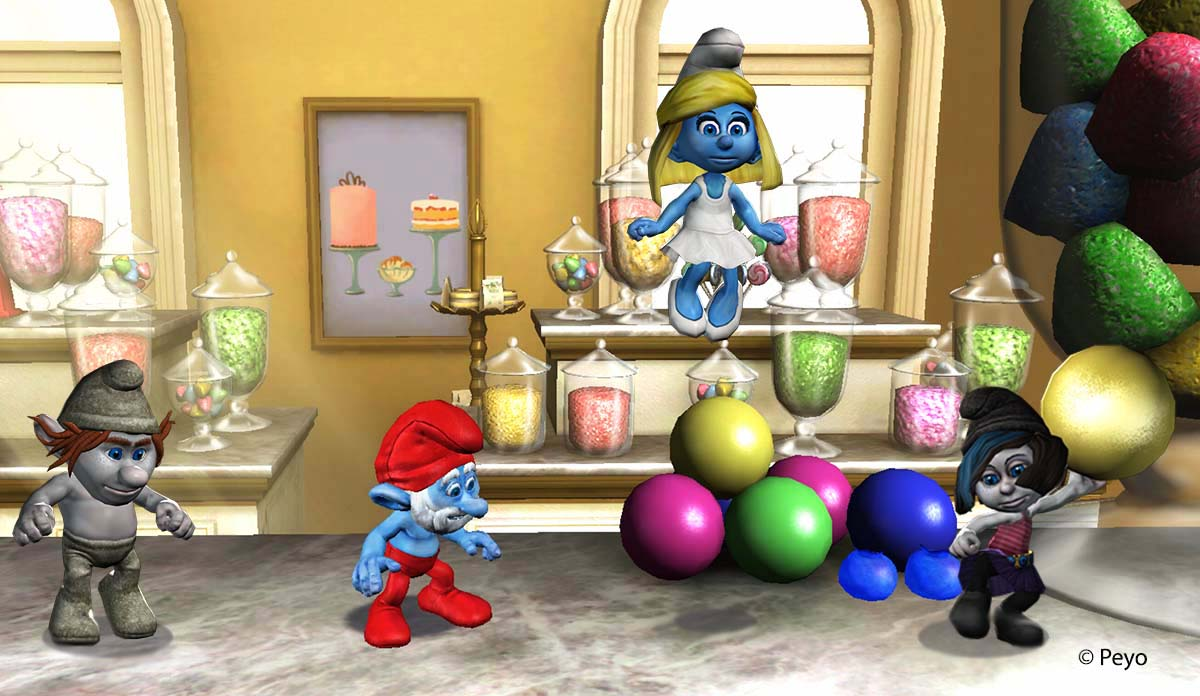 how to play games smurf& 39