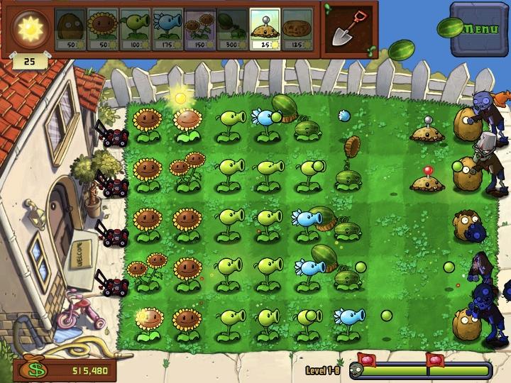 Game Plants vs Zombies | Chơi game Plants vs Zombies miễn phí