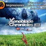 'Xenoblade Chronicles 3D', disponible a partir de abril